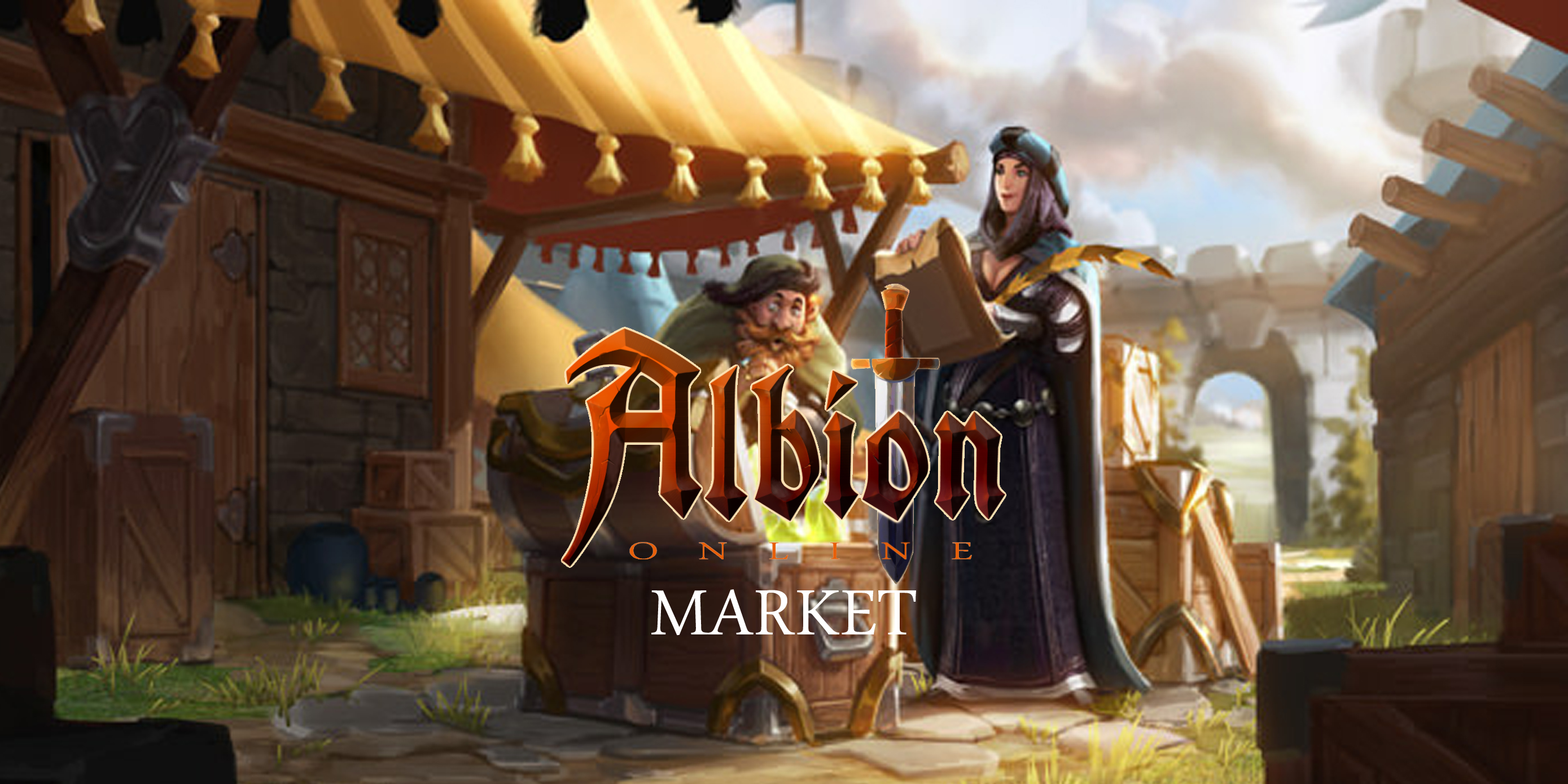 Albion Online Market - How to trade Albion Online goods