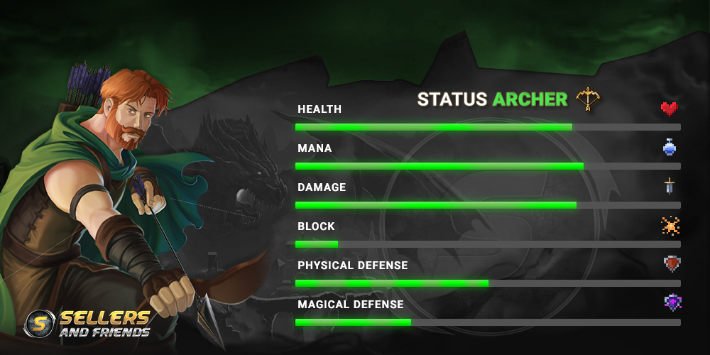 Bloodstone Archer guide - shoot them monsters like a boss!