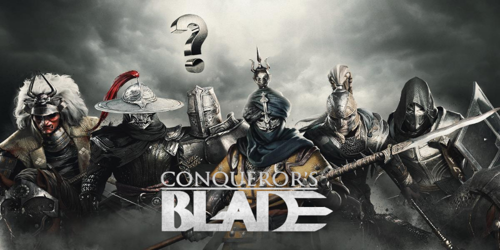 Conqueror's Blade classes - which weapon will be the best for you?