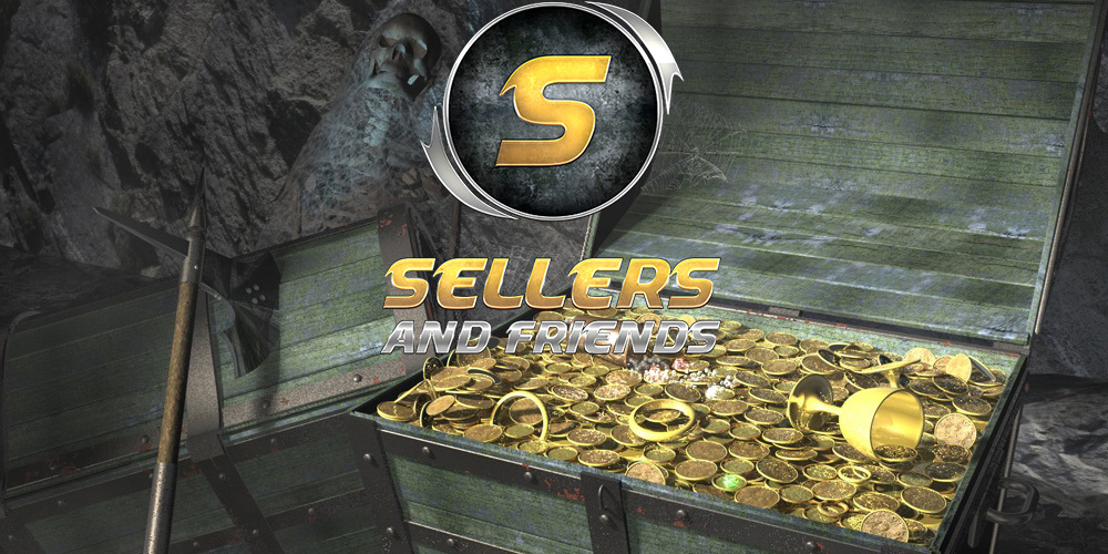 Earn extra currency with Sellers and Friends!