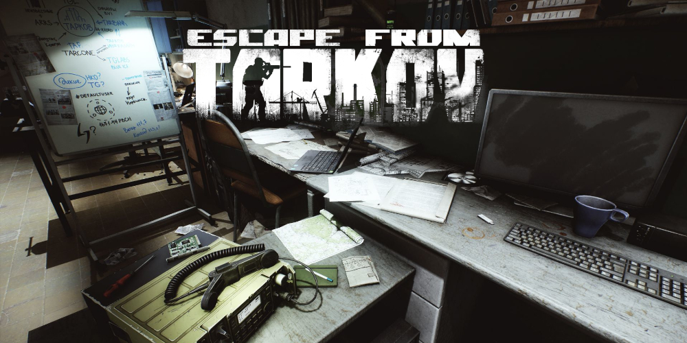 Escape from Tarkov hideout - the only place safe in Tarkov