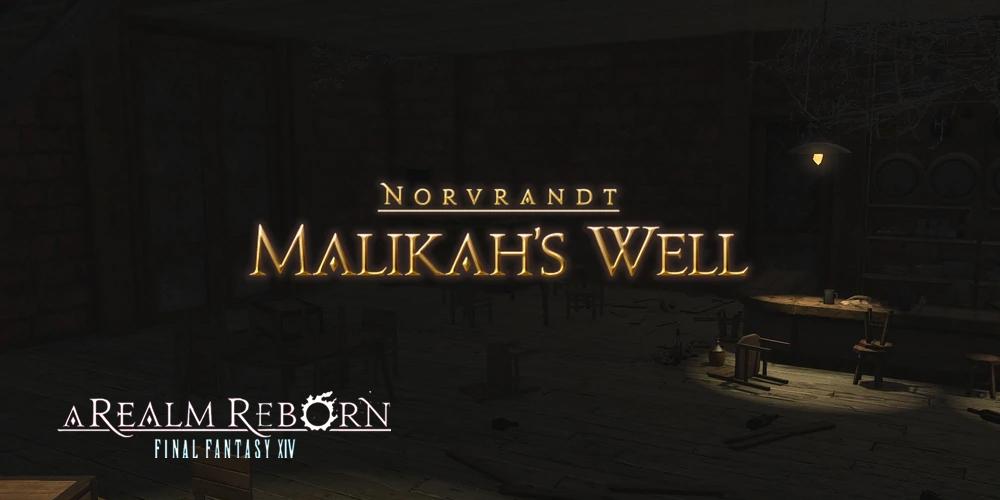 Malikah's Well Dungeon