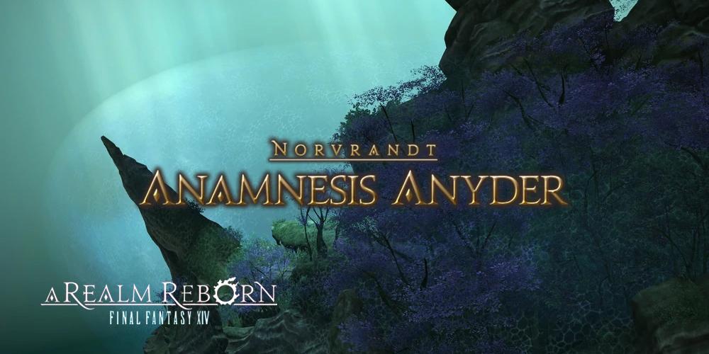 Anamnesis Anyder dungeon Trust System
