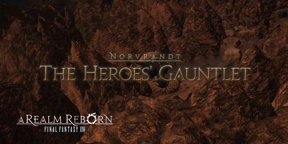 The Heroes' Gauntlet dungeon