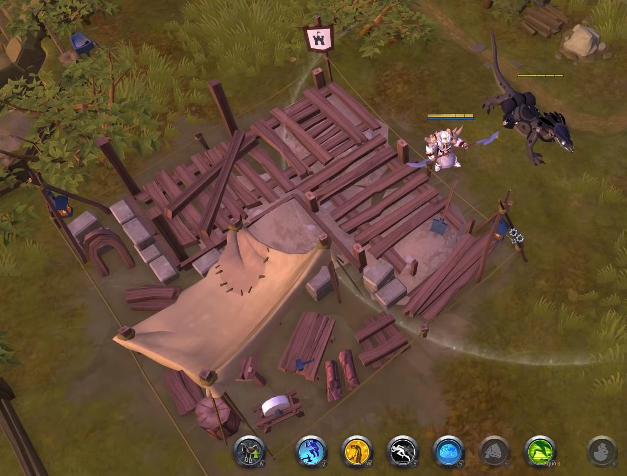 Albion Online construction site