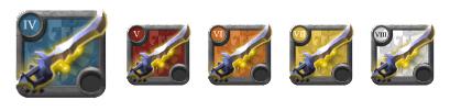 Clarent Blade tiers