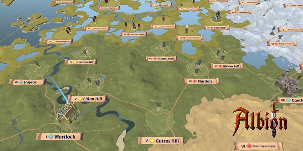 Albion Online Zones Map