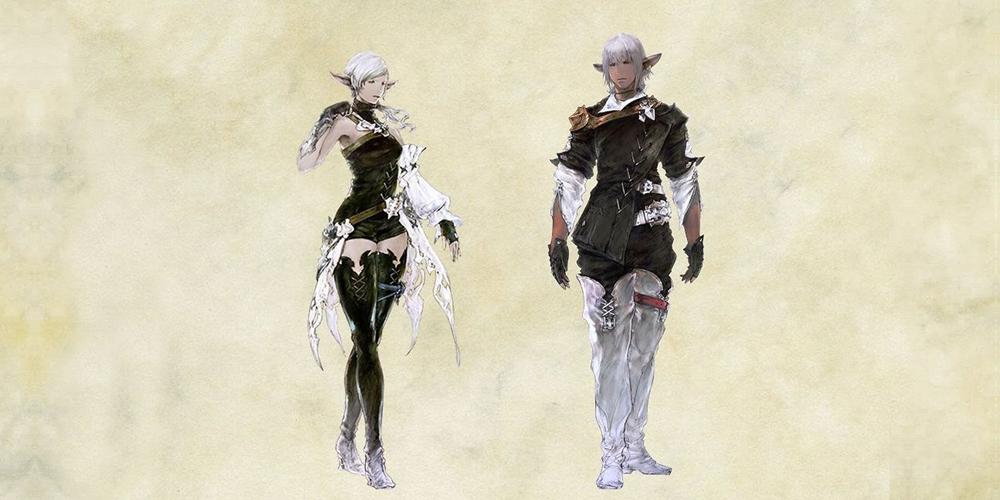 Final Fantasy XIV races Elezen wiki activity