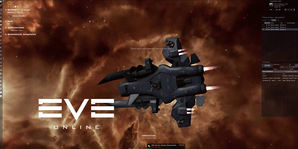 Eve Online Mission Running