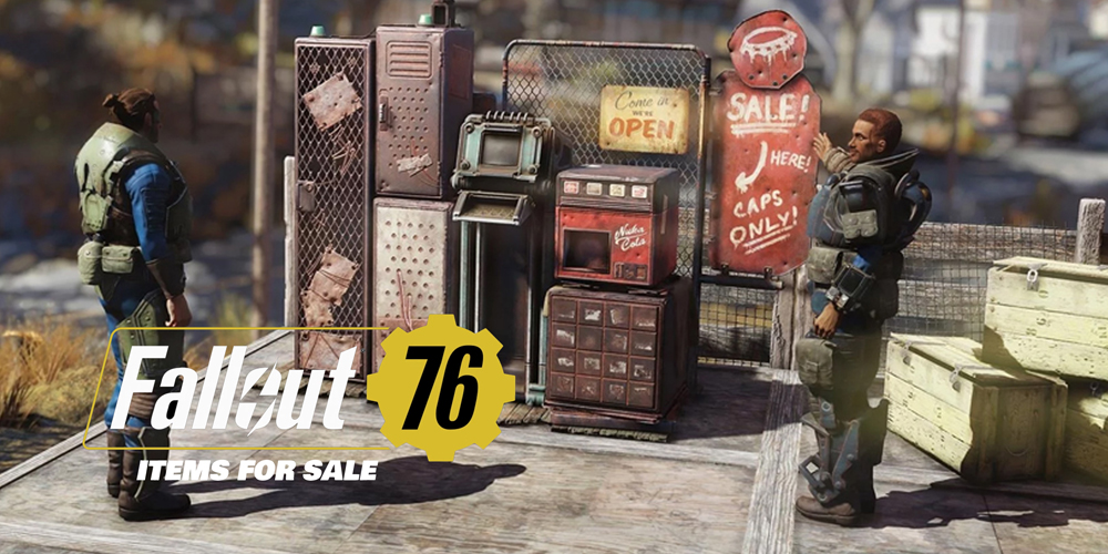 Fallout 76 items for sale bos