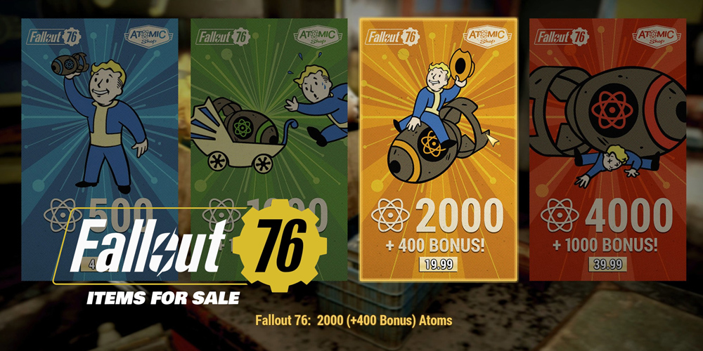 Fallout 76 Items for Sale