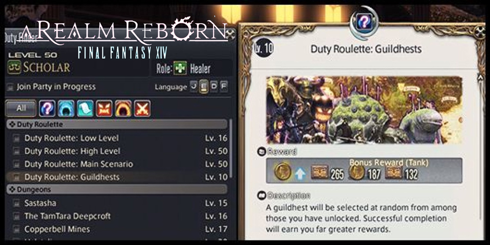 FF14 Duty roulettes how to farm Gil 0 feed