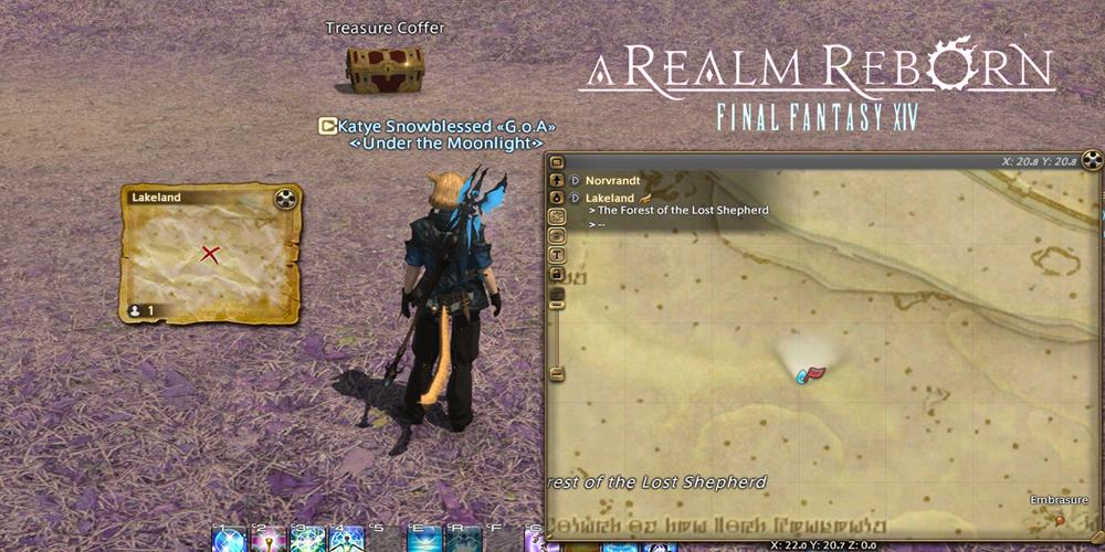 FF14 Treasure maps gil farming research