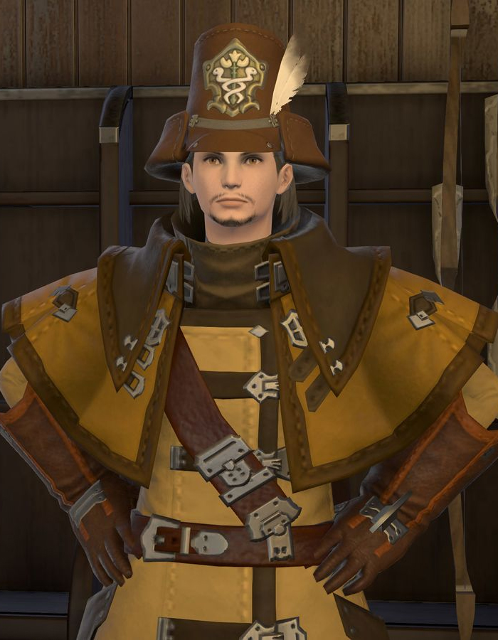 FFXIV personnel officer of doman enclave