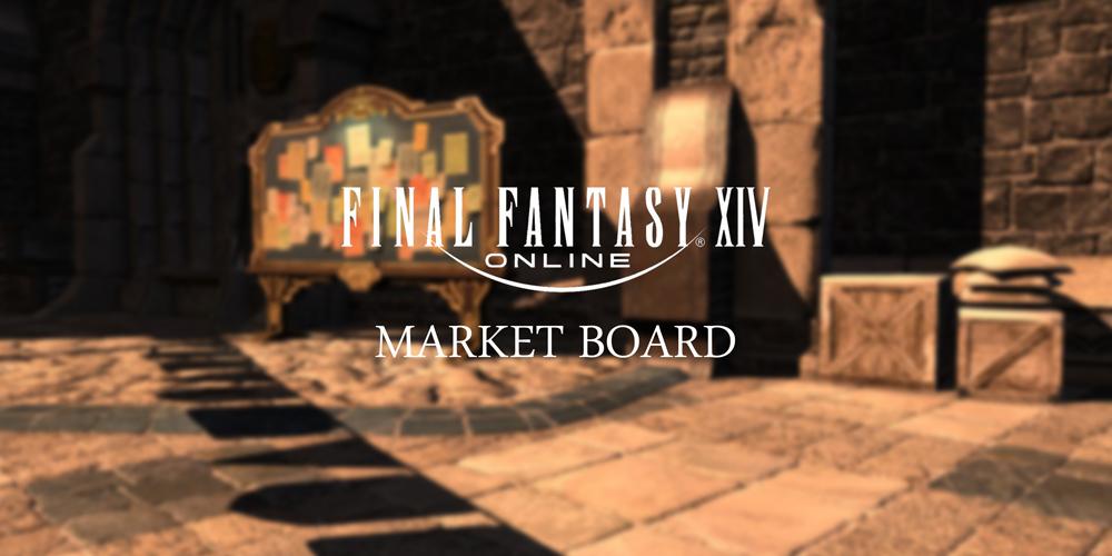 FFXIV Market Board Background