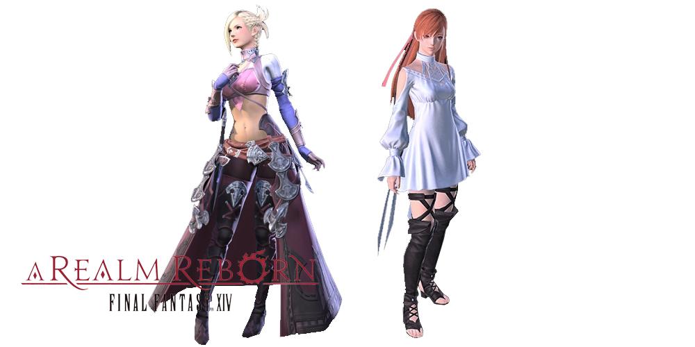 Final Fantasy XIV Minfilia / Ryne Trust System