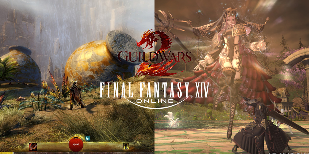 Guild Wars 2 and FFXIV days quests