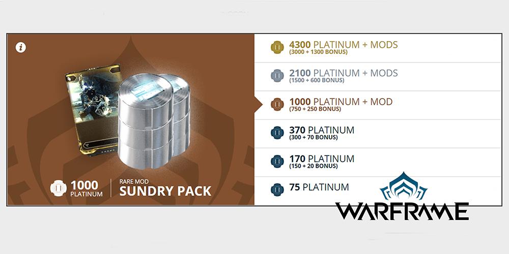 Warframe.com/buyplatinum