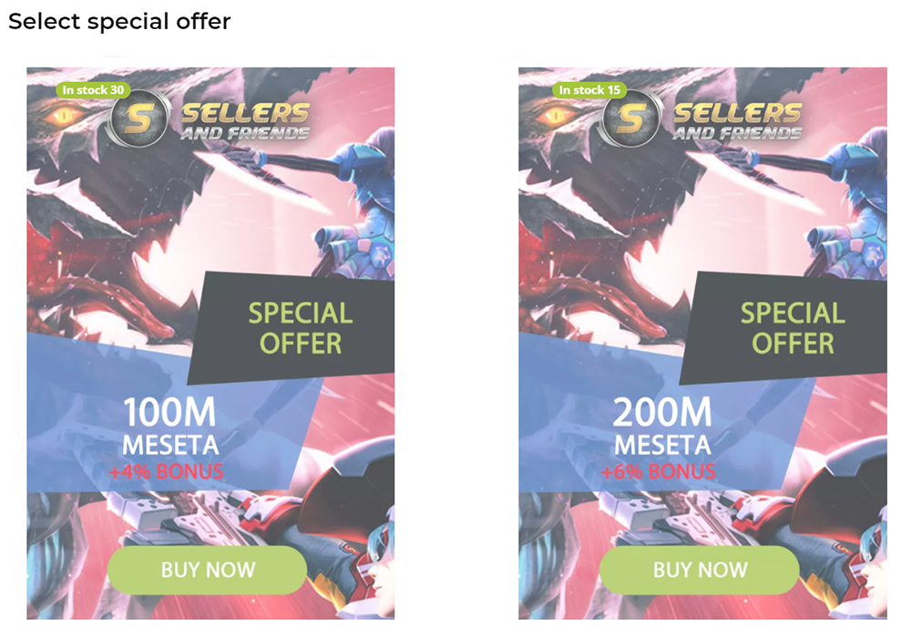 Buy PSO2 PC Ship 04 Meseta